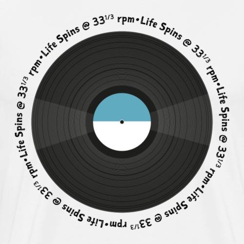 Life Spins at 331/3 rpm