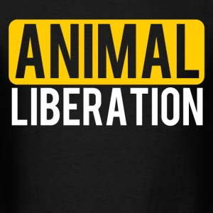 Animal Liberation - Men's T-Shirt