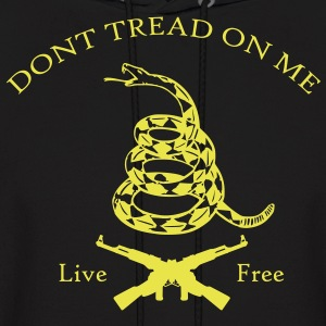 Dont Tread On Me Live Free Hoodies - Men's Hoodie