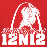 Design ~ Cardinals Rally Squirrel - 12 in 12 Tee Shirt