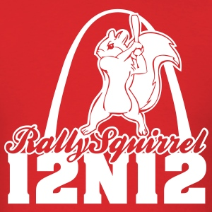 Cardinals Rally Squirrel - 12 in 12 - Men's T-Shirt