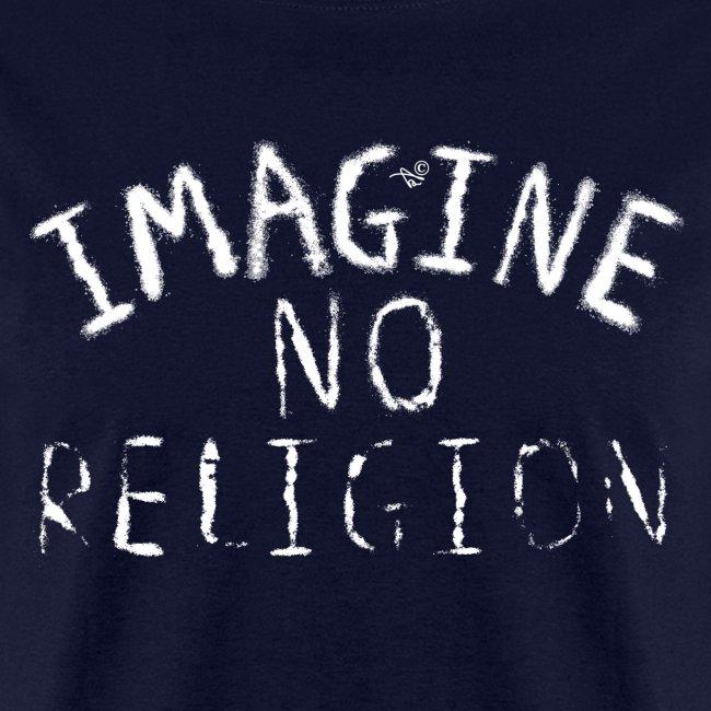 Imagine NO Religion (Faded Art)