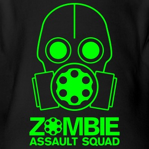 One Piece Zombie Assault Squad Zombie Green - Short Sleeve Baby Bodysuit
