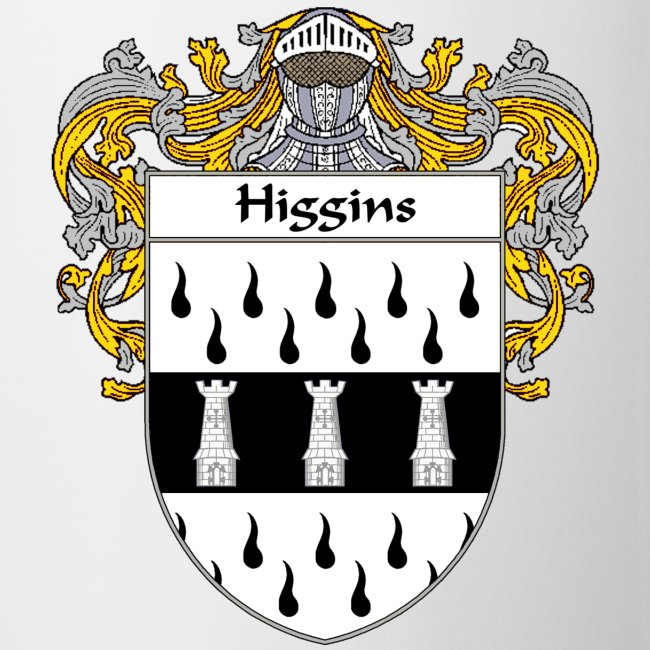 415197 | Higgins Coat of ArmsFamily Crest - CoffeeTea Mug