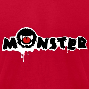 monster - Men's T-Shirt by American Apparel