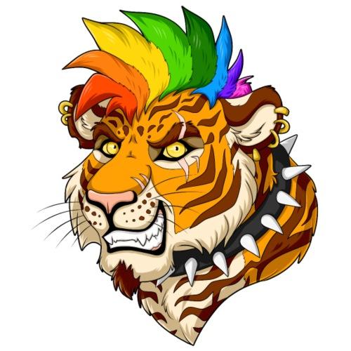 Punk/Mohawk Tiger