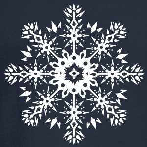Snowflake Ornament Design Long Sleeve Shirts - Men's Long Sleeve T-Shirt