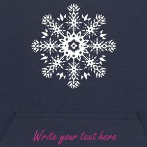 Snowflake Ornament Design Sweatshirts - Kids' Hoodie