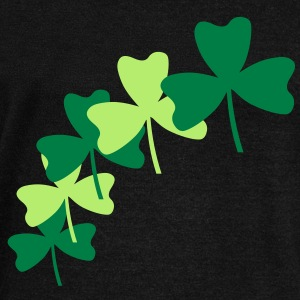 Shamrock Splash Long Sleeve Shirts - Women's Wideneck Sweatshirt
