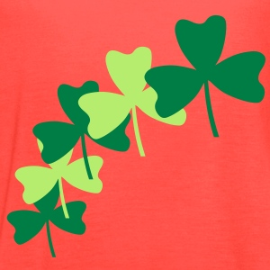 Shamrock Splash Tanks - Women's Flowy Tank Top by Bella