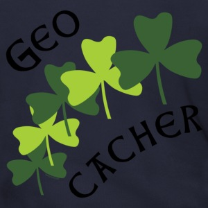 Geocacher Shamrocks Zip Hoodies/Jackets - Men's Zip Hoodie