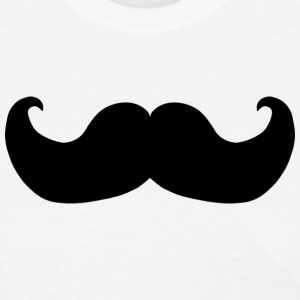 Black Mustache - Women's T-Shirt