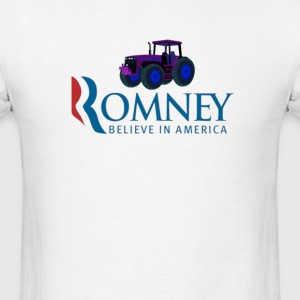 Harvesting Mitt Romney 2012 - Men's T-Shirt