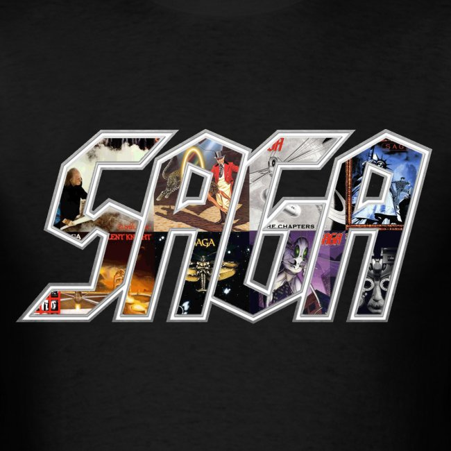 Album cover Logo shirt