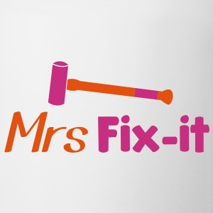 MRS fix-it with a hammer  Bottles & Mugs - Coffee/Tea Mug