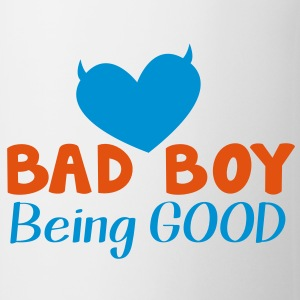 BAD BOY- being GOOD! Bottles & Mugs - Coffee/Tea Mug