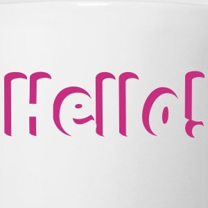 HELLO! super cute in shadow Bottles & Mugs - Coffee/Tea Mug