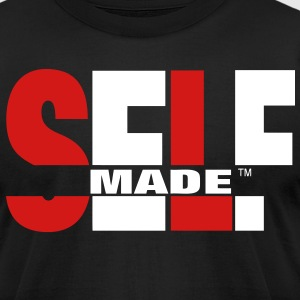 SELF MADE T-Shirts - Men's T-Shirt by American Apparel