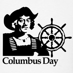 Columbus Day - Men's T-Shirt