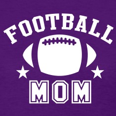 FOOTBALL MOM STAR DESIGN T-Shirt WP