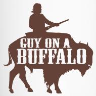 Design ~ Guy on a Buffalo