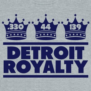 Detroit Royalty T-Shirts - Unisex Tri-Blend T-Shirt by American Apparel