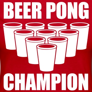 Beer Pong Champion - stayflyclothing.com - Women's Long Sleeve Jersey T-Shirt