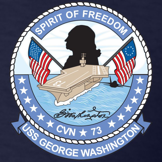 USS GEORGE WASHINGTON 1994 CRUISE SHIRT - Plankowner
