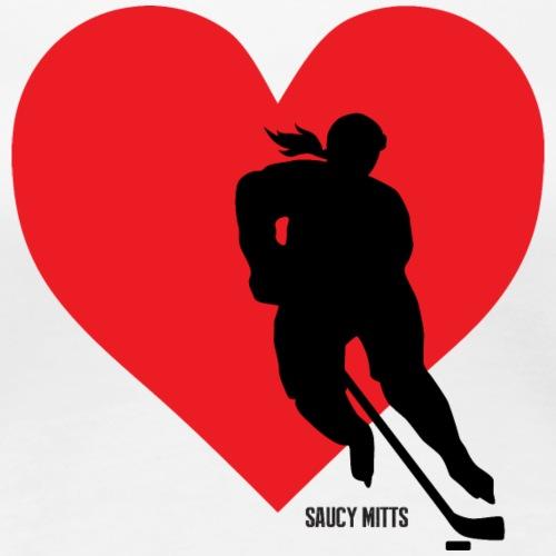 Women's Love Heart Hockey
