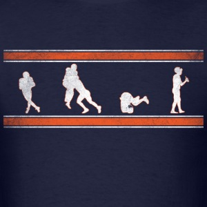 Jay Cutler - Evolution of a Sack T-Shirts - Men's T-Shirt