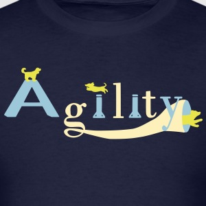 agility three dogs T-Shirts - Men's T-Shirt