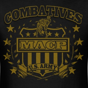 Combatives Shield Faded Look T-Shirts - Men's T-Shirt