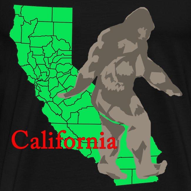 California Bigfoot