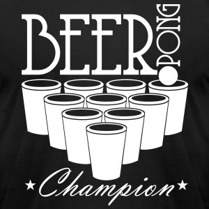 BEER PONG CHAMP T-Shirts - Men's T-Shirt by American Apparel