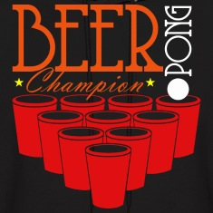 BEER PONG CHAMP Hoodies