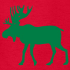 Elk/Cow Moose Kids' Shirts