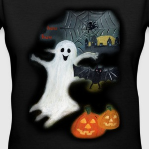 Halloween Women's T-Shirts - Women's V-Neck T-Shirt