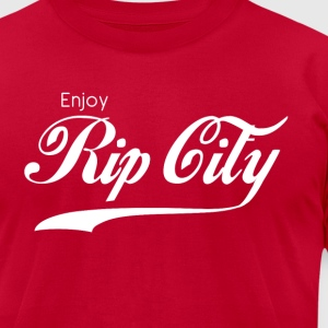 Enjoy Rip City - Men's T-Shirt by American Apparel