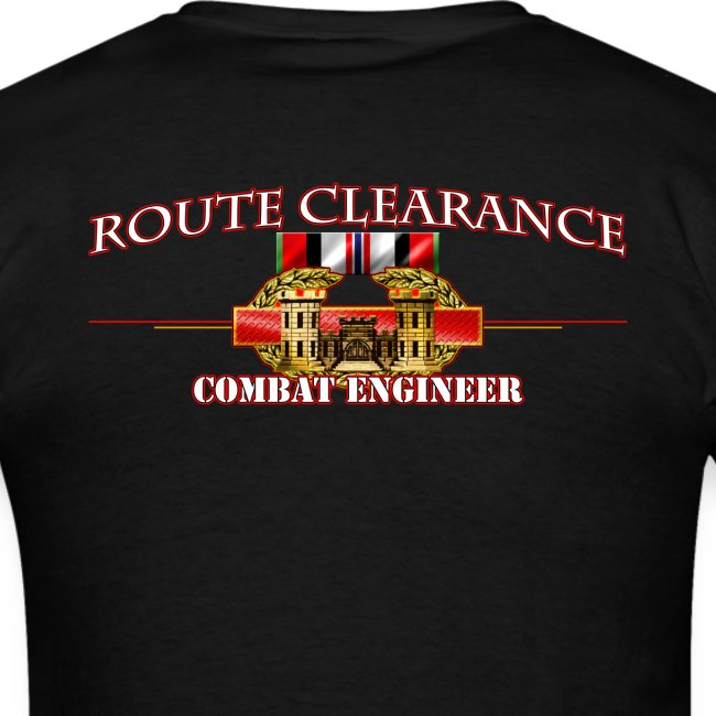 OEF Route Clearance w/Front Sapper Tab