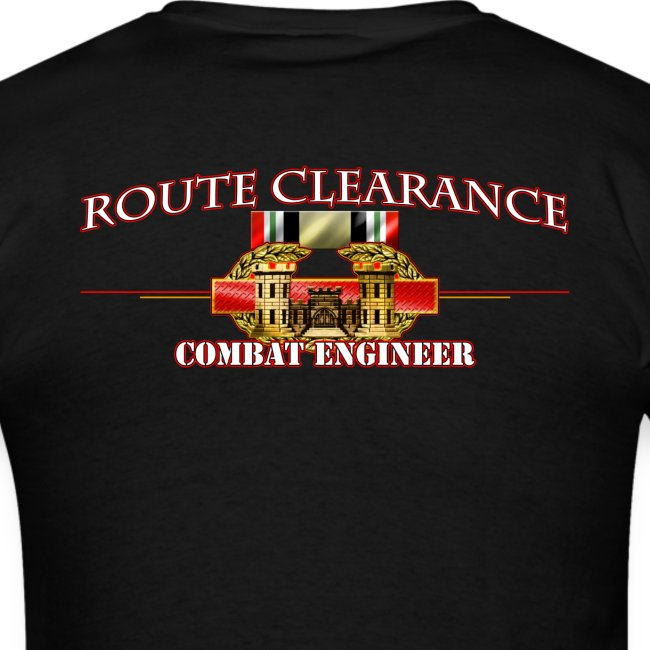 OIF Route Clearance w/Front Sapper Tab