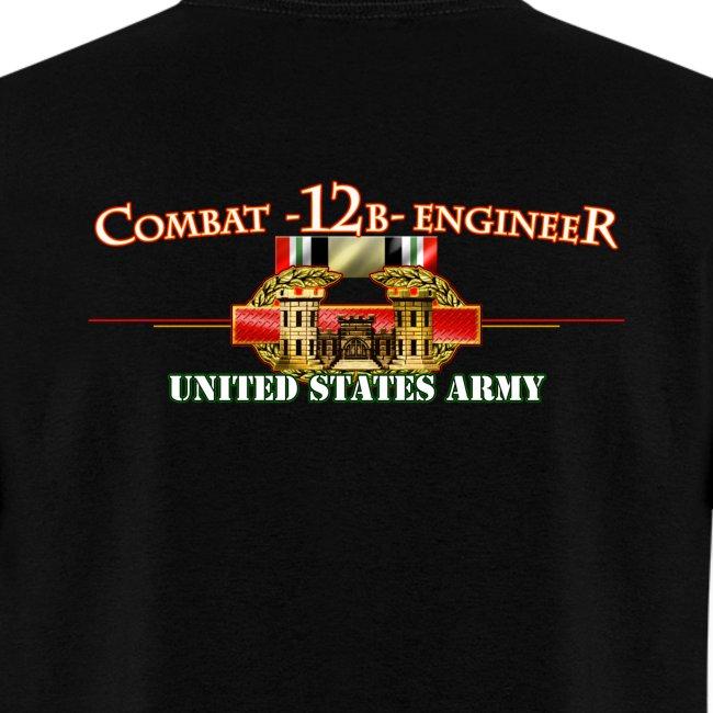 OIF Combat 12B w/Front Sapper Tab