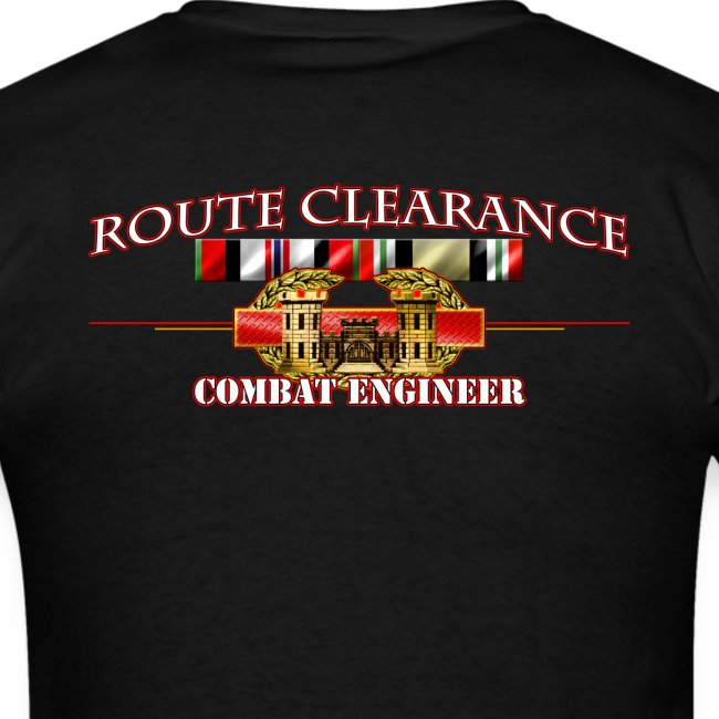 OEF & OIF Route Clearance w/Front Sapper Tab