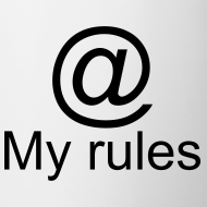 Design ~ My rules @ mug