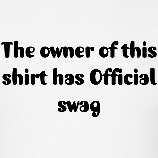 Official swag