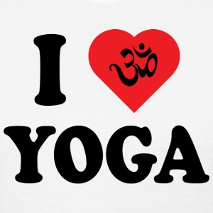 I Love Yoga T-Shirt - Women's T-Shirt