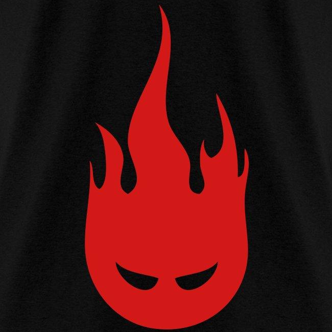 Fire Crotch (Red) Men's Standard Weight T-Shirt