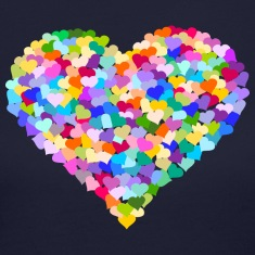 Rainbow Heart of hearts