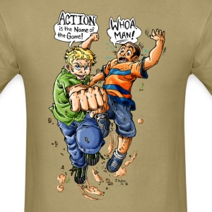 Action, Name of the Game T Shirt for Men/Boys - Men's T-Shirt