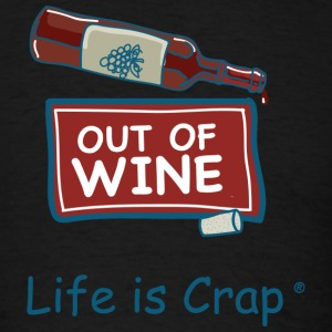 Out of Wine Bottle - Men's T-Shirt