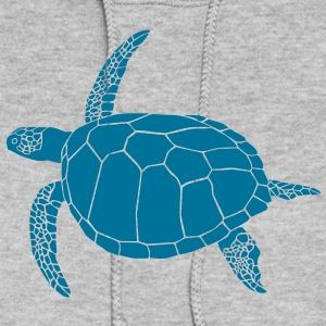 sea turtle scuba diving coral reef Hoodies - Women's Hoodie